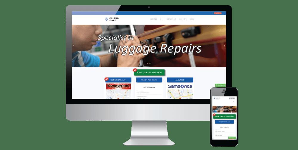project 2 website development