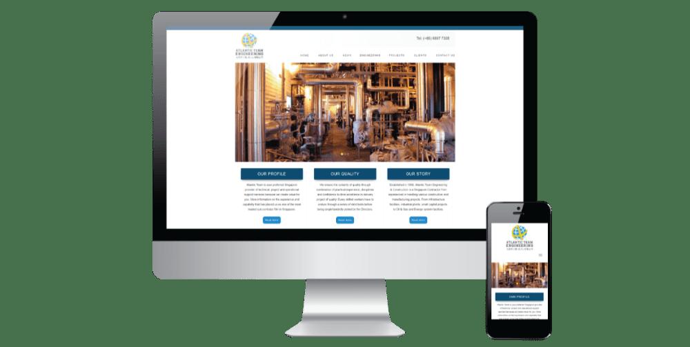 project 4 website development
