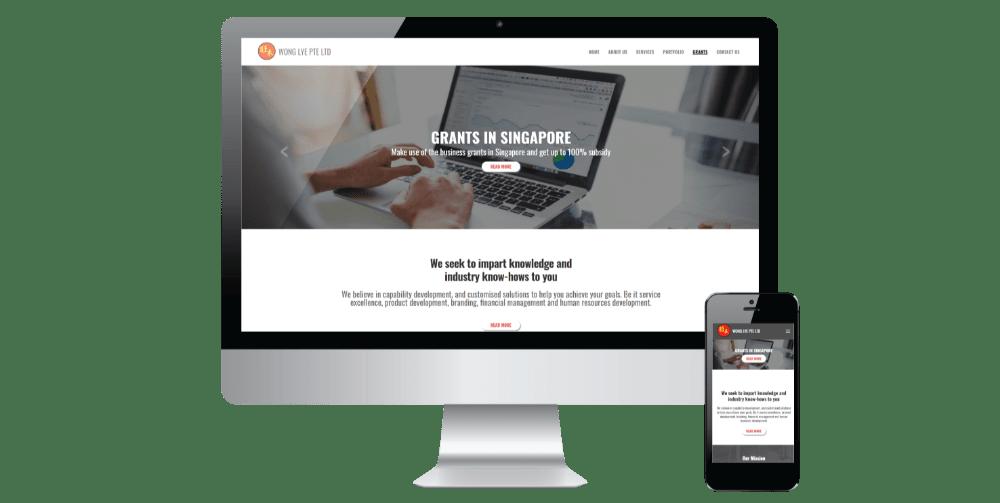 project 5 website development